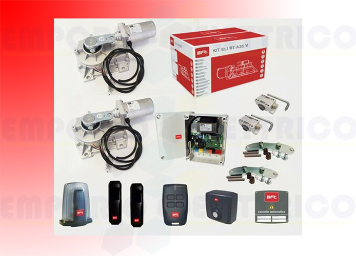 bft kit complet 24v portails battants eli bt a35 v r930148 00001